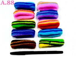 Donut Garis Polos / 1 bungkus ( A-8814 )