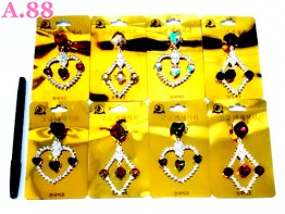 Bros Love Bujur Tiga Kristal / 1 lusin ( A-8817 )