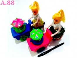 Barbie Gerobak /2pcs (A-8825)
