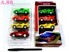 Mobil Balap Isi 4/set (A-8835)