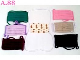 Masker Hijab /lusin (A-8861)