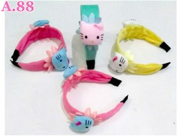 Bando Lebar Double Kitty Bantal /4pcs (A-8879)