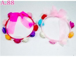 Flower Crown Tebal Sepuluh Rose /6pcs (A-8881)