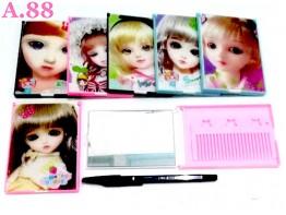 Kaca Sisir  Barbie 3D  7.5cm x 11cm /6pcs (A-8932)
