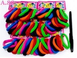Donut  Card Polos Warna Isi 72 /bungkus (A-8945)