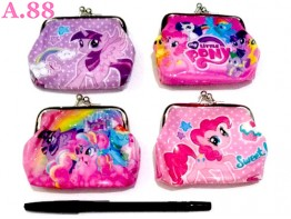 Dompet Koin Pony /lusin (A-8948)