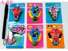 Gantungan Kunci Kuku Love/lusin (A-8991)