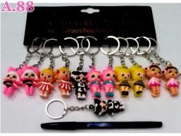 Gantunga Kunci LOL Karet /lusin (A-8992)