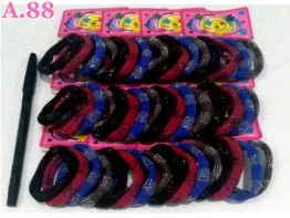 Donut Gliter Card Isi 48 /bungkus ( A-9015 )