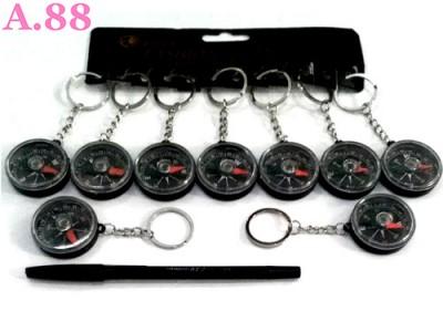 Gantungan Kunci Kompas /lusin (A-9059)
