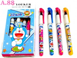 Pulpen Gel Doraemon Yoker/ lusin (A-9094)