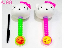 Kepala Kitty Kerincingan /2pcs (A-9136)
