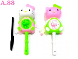 Kitty Full Kerincingan /2pcs (A-9137)