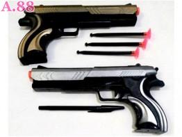 Pistol List Emas Silver /2pcs (A-9140)