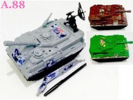 Mobil Tank Tentara /2pcs (A-9141)
