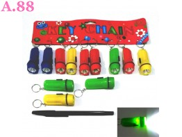 Gantungan Kunci Senter Kecil /lusin (A-9175)
