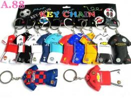 Gantungan Kunci Baju Bola /lusin (A-9217)
