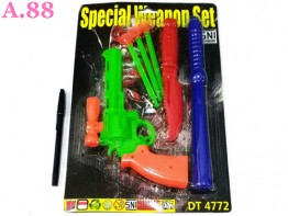 Pistol Pisau Set  /2set (A-9266)
