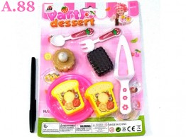 Mainan Roti Biskuit  /2set (A-9267)
