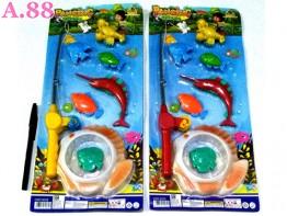 Pancingan Ikan Isi 6pcs  Kolam /2set (A-9270)