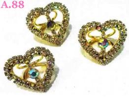 Ring Jilbab Love  / 6pcs(A-9285)