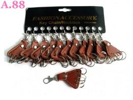 Gantungan Kunci Cantolan Kulit  /lusin (A-9314)