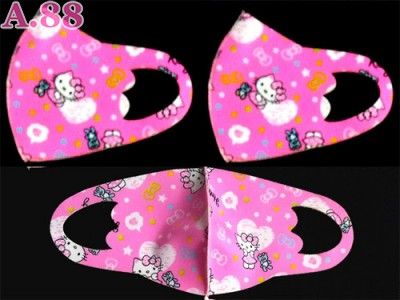 Masker Scuba Anak Kitty  Bahan Tebal /lusin (A-9325