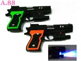 Pistol Lampu Laser /2pcs (A-9329)