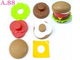 Mainan Anak Hamburger /2pcs (A-9335)