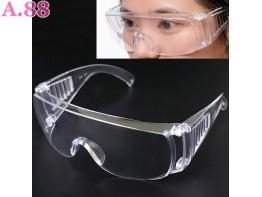 Kacamata Safety Anti Debu Bening - 2pcs (A-9337)