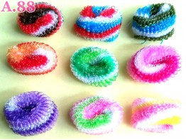 Donut Kecil Belang Pelangi Isi 100 /A-9346