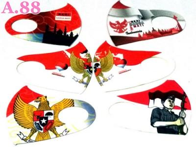 Masker Scuba Merah Putih Garuda  /lusin (A-9349)