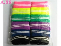 Donut Warna Garis /lusin (A-9355)