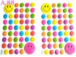 Stiker Timbul Smile /10lembar (A-9392)
