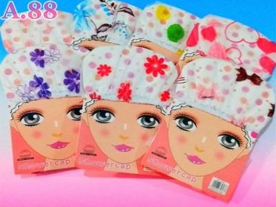 Shower Cap Motif Karton /lusin (A-9433)